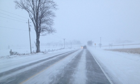 Whiteout leads to multiple car crash in Grey County