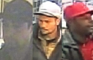 Crimestoppers provides pictures of the three men suspected in a break in at the Essex Legion.