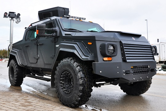 New Ontario Made Armoured Vehicle at Bruce Power
