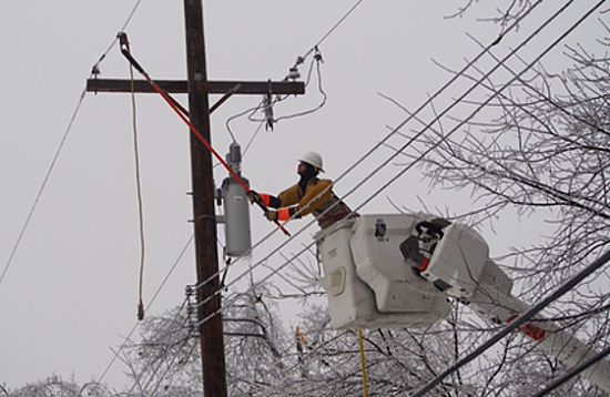 Hydro One Repairs - Ice Storm