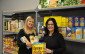 M Adams & Alice Wannan at Owen Sound Food Bank