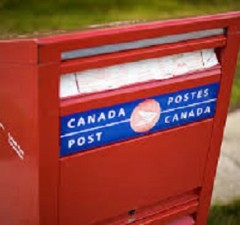 Mail In voting - Canada Post