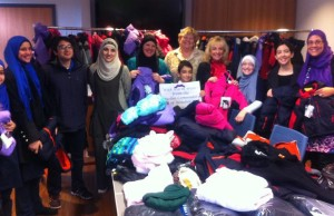 Windsor's Muslim Community donating hundreds of coats to the Unemployed Help Centre, December 5, 2013.