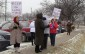 PSW on strike in Windsor Dec. 11, 2013.