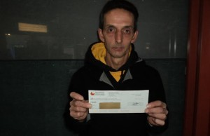 Chatham-Kent Lotto winner Clayton Payne