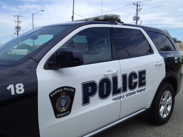 Sarnia Police SUV (BlackburnNews.com file photo.)