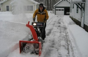 Snow blower photo