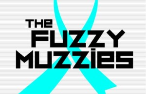 Logo for the Movember team 'The Fuzzy Muzzies' courtesy The Fuzzy Muzzies Facebook page.