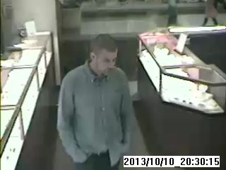 Jewelry Thief Sought