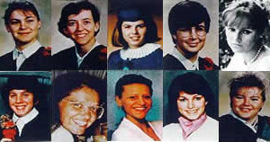 montage of victims of the Montreal massacre