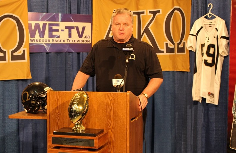 AKO owner Mike Morencie. (Photo by Maureen Revait)