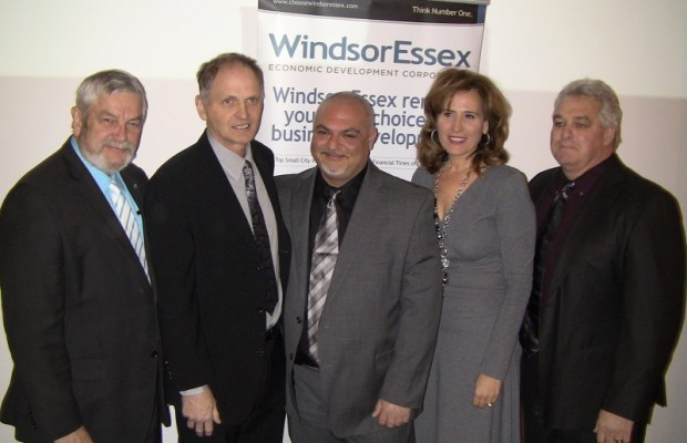 Windsor Essex Economic Development Corporation celebrates announcement with CEN Biotech.