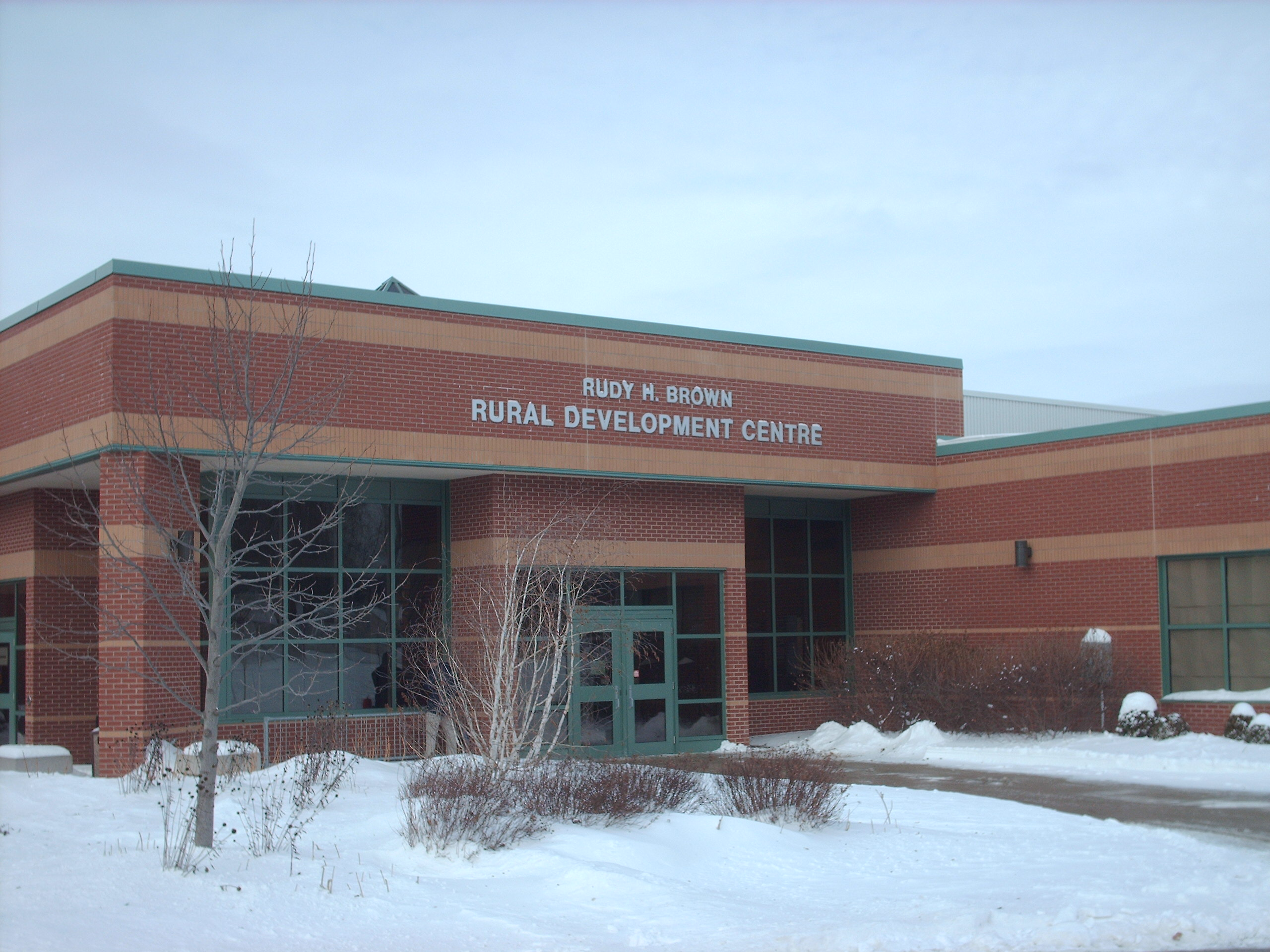 Rural Development Centre University of Guelph Ridgetown Campus (Photo by Simon Crouch)