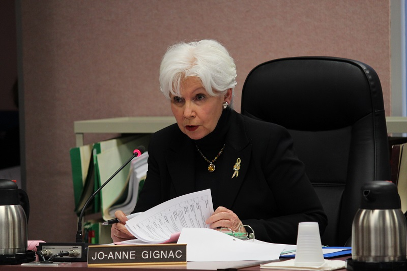Windsor City Councillor Joanne Gignac. (Photo by Maureen Revait)