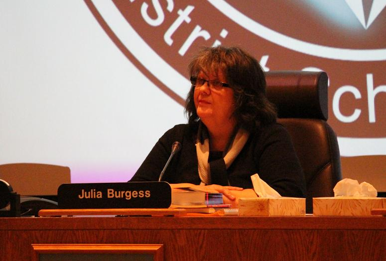 Greater Essex County District School Board Chair Julia Burgess, January 21, 2014.