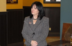 Windsor West MPP Lisa Gretzky, January 28, 2014.