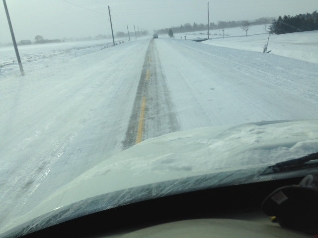 Huron-Perth Driving Conditions Poor Friday a.m.