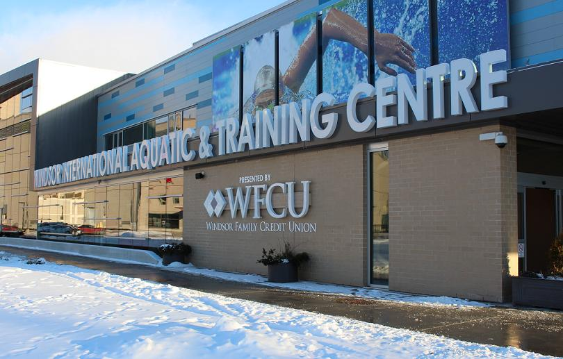 Windsor International Aquatic & Training Centre, January 23, 2014. (Photo by Mike Vlasveld)