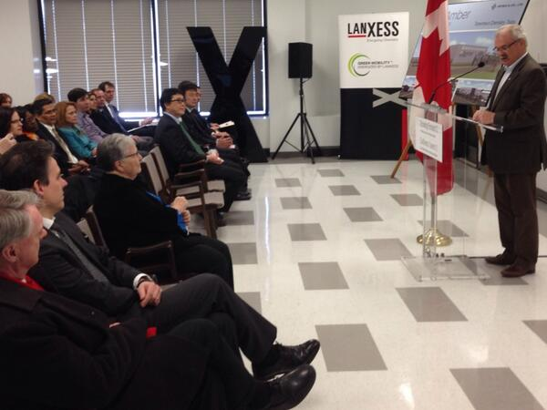 Ag Minister Gerry Ritz Announces BioAmber Loan