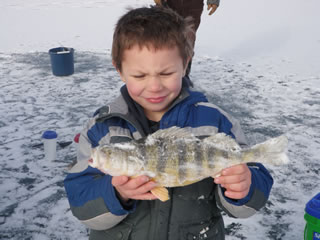 Bluewater Anglers Ice Fishing Derby - Photo Courtesy of bluewateranglers.com