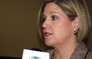 Andrea Horwath (Photo by Ricardo Veneza)