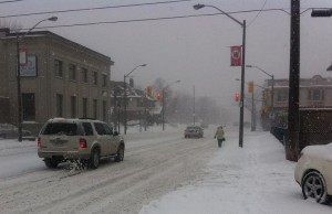 BlackburnNews.com file photo of Wyandotte St. at Devonshire Rd. in Windsor, February 3, 2014.