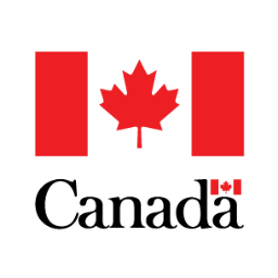 Canadian flag in trade ministry logo