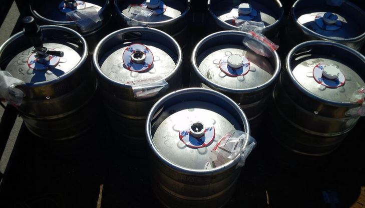 photo of 9 kegs by London Police