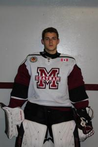 Chatham Maroons goalie Brendan Johnston. Photo courtesy of Chatham Maroons.