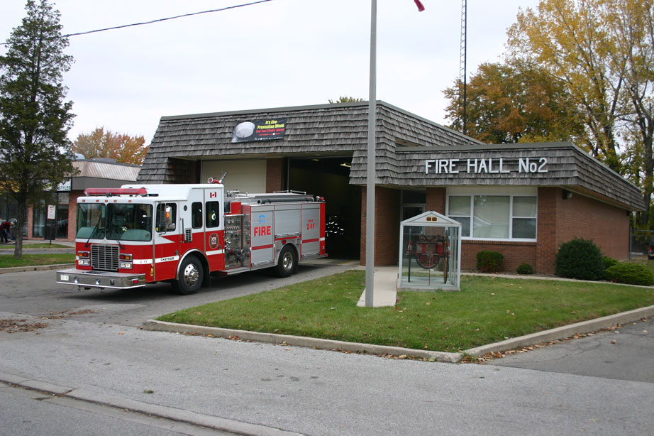 Chatham-Kent Fire Chatham Station 2. (Photo courtesy www.chatham-kent.ca)