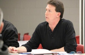 Unifor Local 200 President Chris Taylor, March 11, 2014.