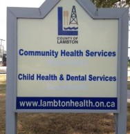 Community Health sign