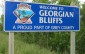 Georgian Bluffs sign