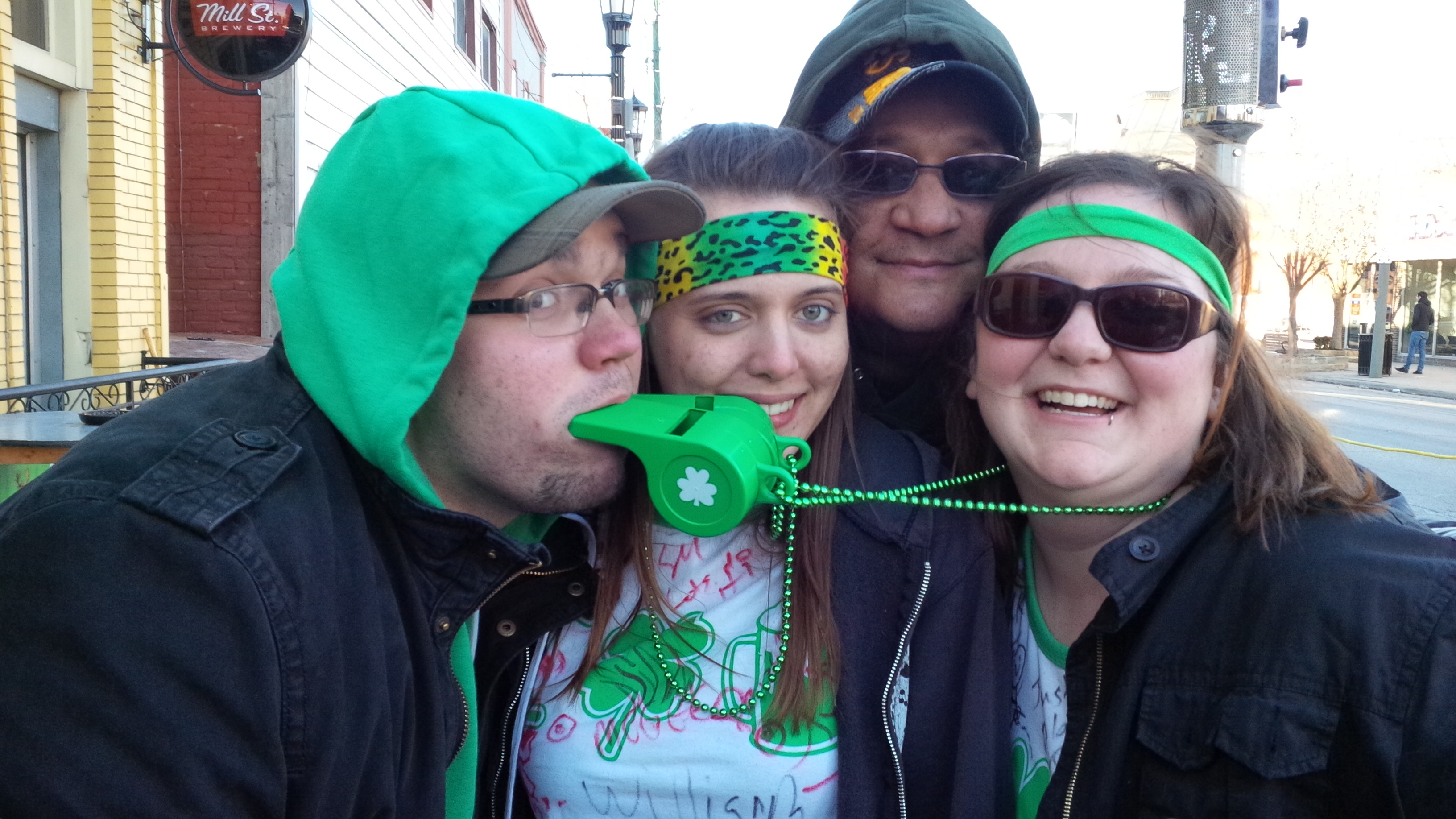 Partiers celebrate St. Patrick's Day. (BlackburnNews.com file photo)
