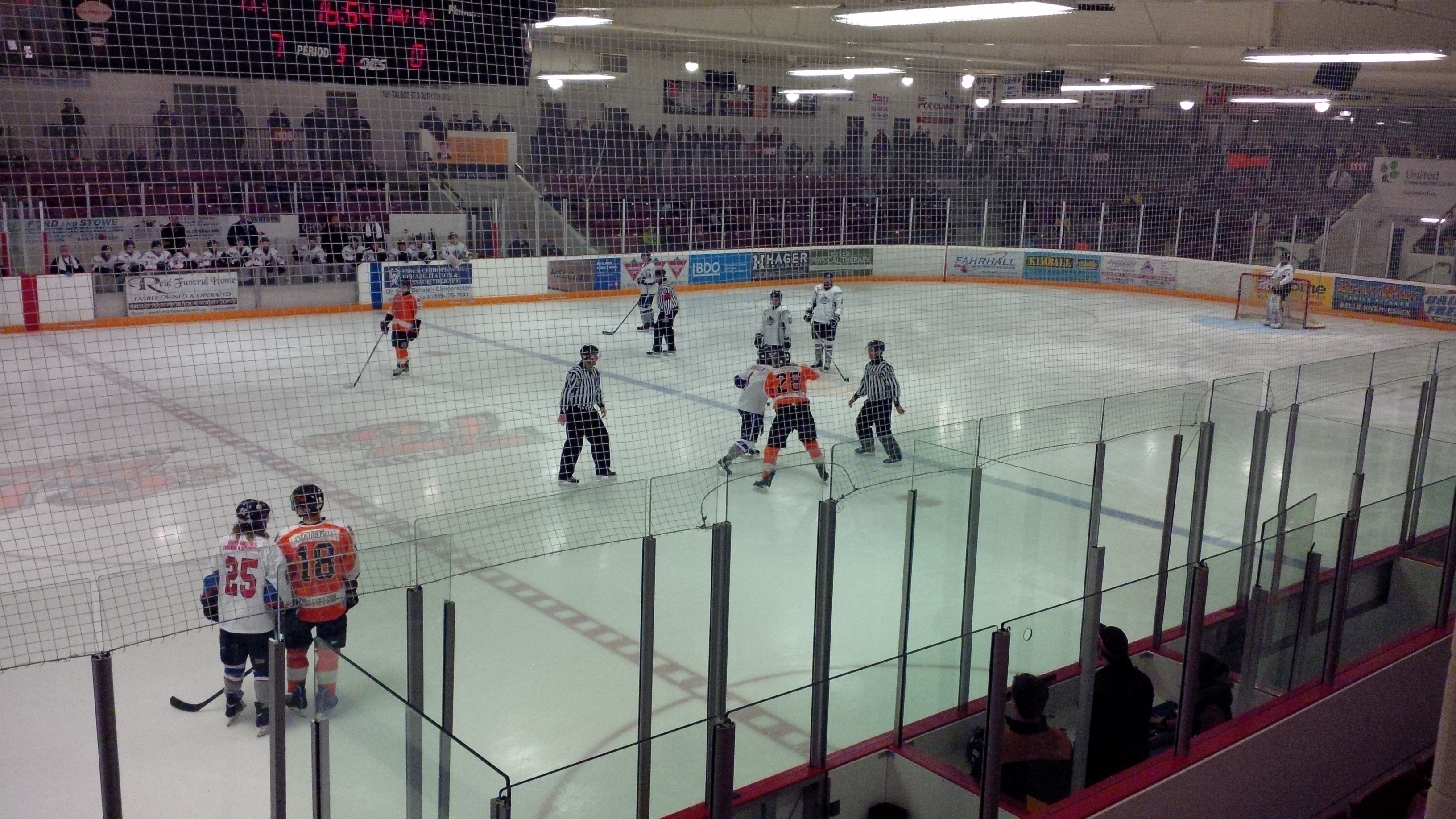 The Essex 73's hosted the Dorchester Dolphins in Game 1 of their Schmalz Cup series on March 18, 2014. (Ricardo Veneza)