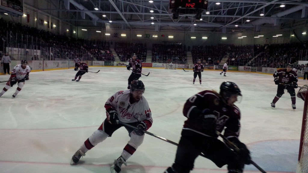 Leamington Flyers V Chatham Maroons 11