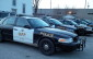 OPP cruisers parked outside of the Leamington detachment. (BlackburnNews.com file photo)