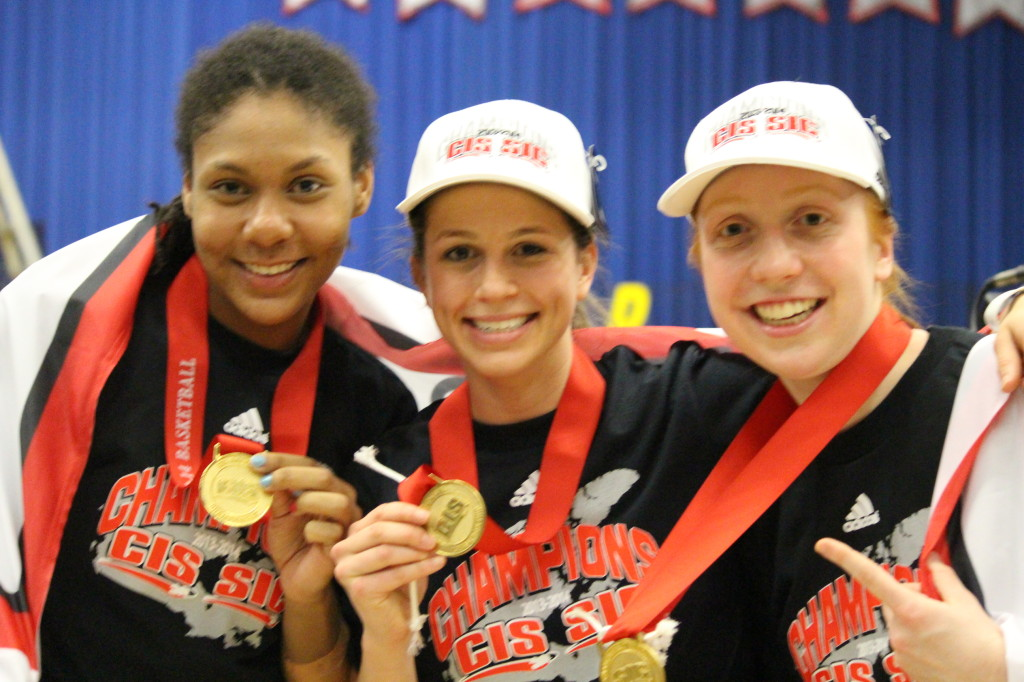 Windsor Lancers Women's Basketball CIS Champions
