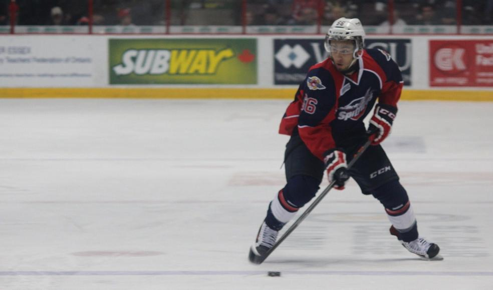 Windsor Spitfires forward Josh Ho-Sang, March 6, 2014.