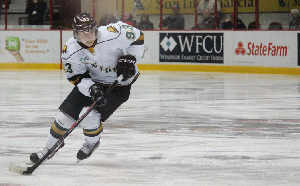 London Knights forward Mitchell Marner at the WFCU Centre in Windsor, March 25, 2014.