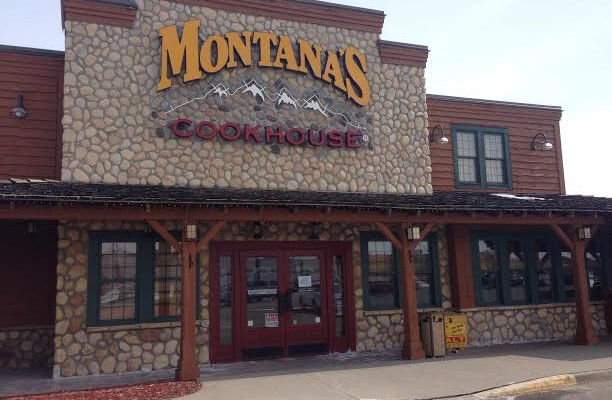 Montana's Cookhouse and Bar closes abruptly in March 2014. BlackburnNews.com (Photo by Melanie Irwin)