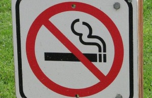 No Smoking Sign - outdoors