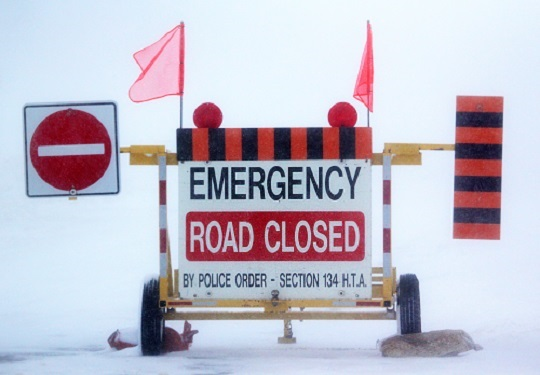 Area Roads Re-open After Overnight Closures