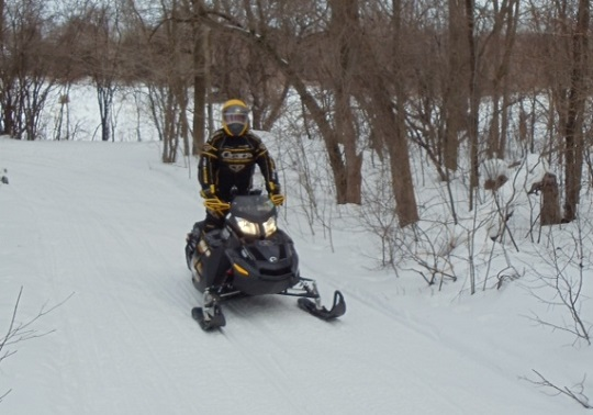 Local Snowmobile Trails Not Open Yet