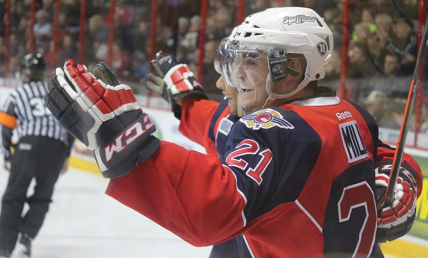 Spits Kick Off Busy Weekend