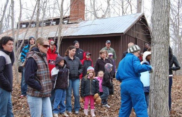 Alvinston Maple Syrup Festival at A.W. Campbell Conservation Area. (Submitted Photo)
