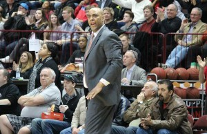 Windsor Express Head Coach Bill Jones, April 1, 2014.