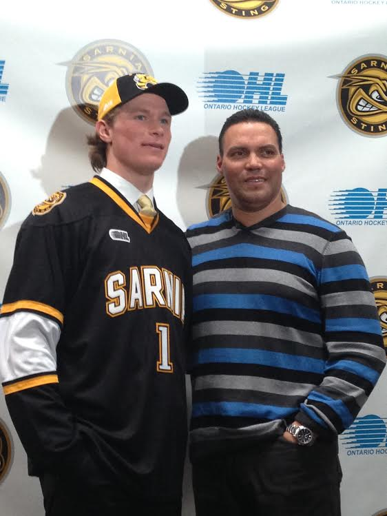 Jakob Chychrun - Photo submitted by the Sarnia Sting