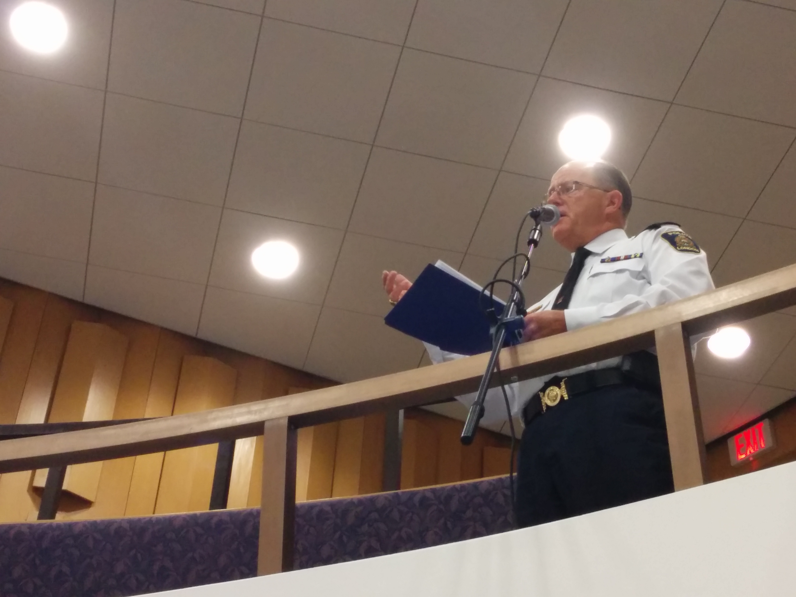chief brad duncan asks for money to cover 2013 deficit