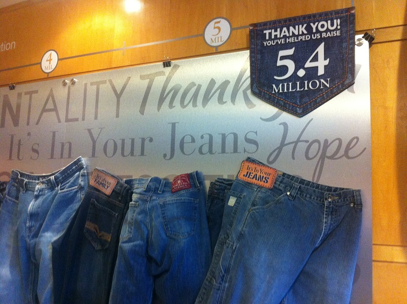 The It's In Your Jeans campaign by the Windsor Regional Cancer Centre Foundation raised $5.4M for the new Dr. Richard Boyd Regional Comprehensive Men's Health Program.